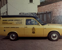 Original courier van